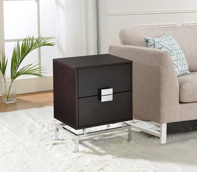 Lydia Cappuccino End Table