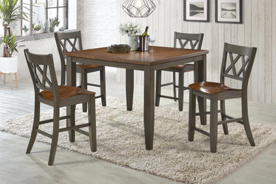 Marco Gray/Brown Counter Height Set
