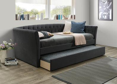 Maddox Charcoal Daybed with Trundle | MD8011