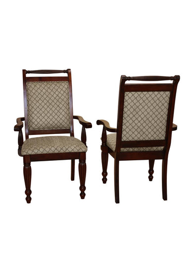 Wilshire Brown Armchair, Set of 2