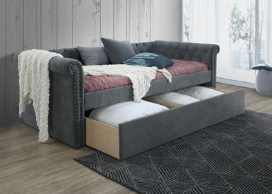 Jayce Gray Daybed with Storage | JY8017
