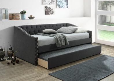 Giovanni Charcoal Daybed with Trundle | GV8010