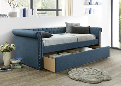 Zayden Blue Daybed with Storage | ZY8012