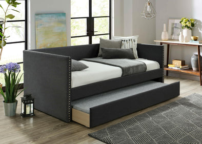 Rowan Charcoal Daybed with Trundle | RW8013