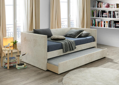 Rowan Beige Daybed with Trundle | RW8013