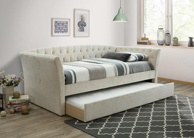 Maddox Beige Daybed with Trundle | MD8011