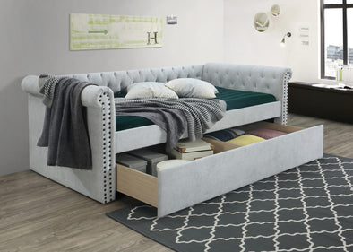 Jayce Light Gray Daybed with Storage | JY8017