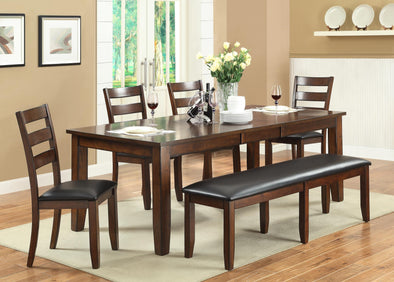 Arianna Brown Dining Set