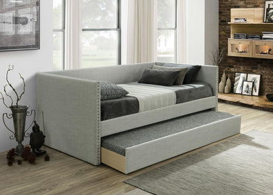 Rowan Light Gray Daybed with Trundle | RW8013