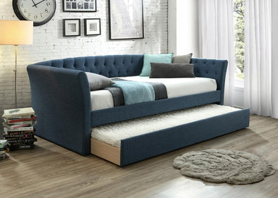 Maddox Blue Daybed with Trundle | MD8011