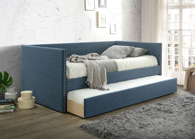 Rowan Blue Daybed with Trundle | RW8013
