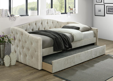 Emmett Beige Daybed with Trundle | EM8014