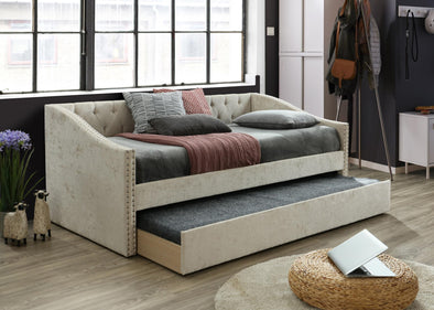 Giovanni Beige Daybed with Trundle | GV8010
