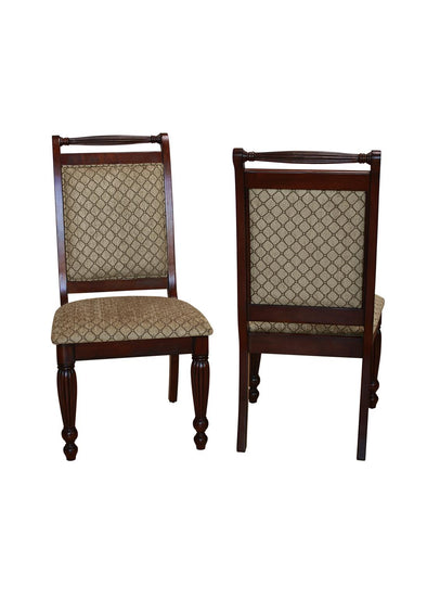 Wilshire Brown Side Chair, Set of 2