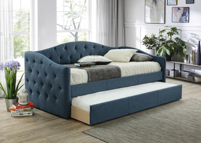 Emmett Blue Daybed with Trundle | EM8014