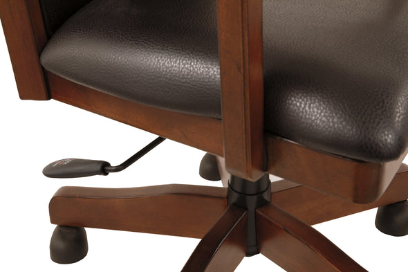 Hamlyn Home Office Swivel Desk Chair | H527 - Luna Furniture