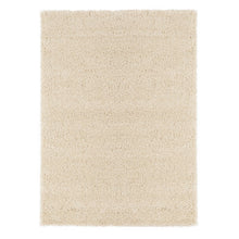 Load image into Gallery viewer, Cozy 2762 Solid Ivory Shaggy Area Rug - 8X10 - Bellaria Furniture HomeStore
