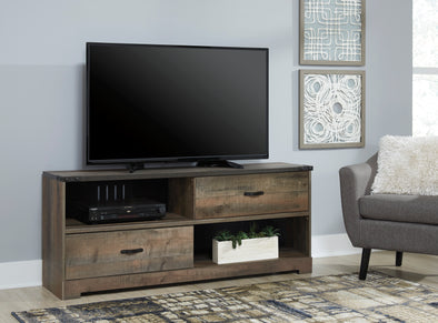 Trinell Brown Large TV Stand - Luna Furniture