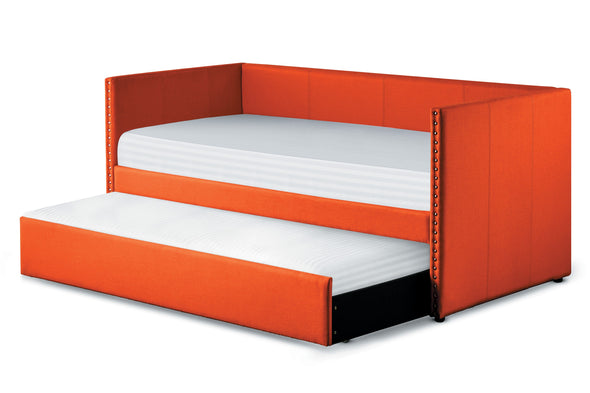 Therese Orange Daybed with Trundle - Luna Furniture