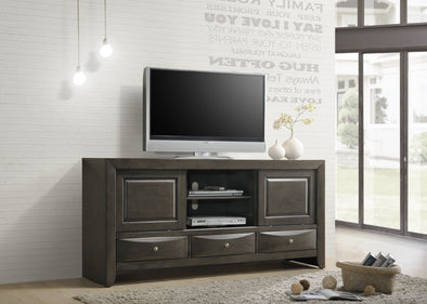 "Emily Grey 68"" TV Stand - Luna Furniture"