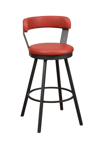 Appert Red Counter Height Chair, Set of 2 | 5566