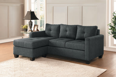 [SPECIAL] Phelps Dark Gray Reversible Sofa Chaise