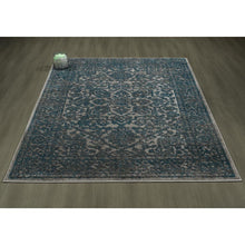Load image into Gallery viewer, Urban 4266 Oriental Medallion Blue Grey Area Rug - 5X7 - Bellaria Furniture HomeStore