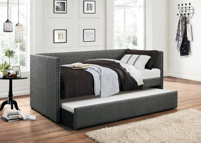 Therese Gray Daybed with Trundle | 4969