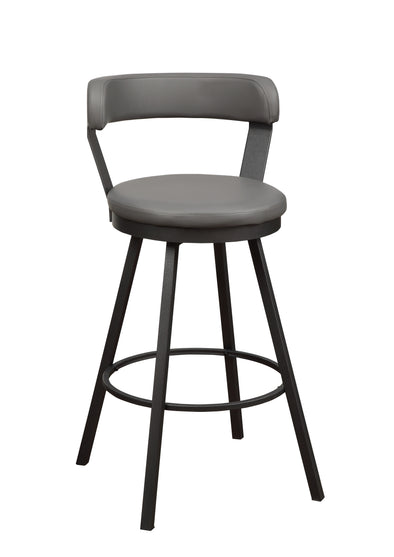 Appert Gray Counter Height Chair, Set of 2 | 5566
