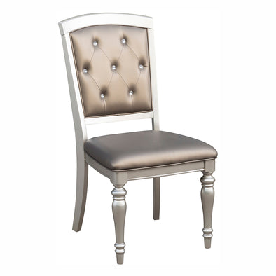 Orsina Silver Side Chair, Set of 2 | 5477