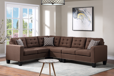 Logan Brown Reversible Sectional