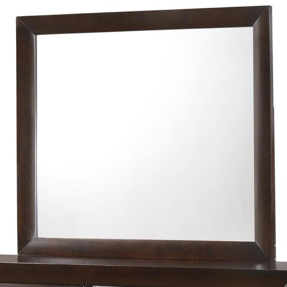 Emily Dark Cherry Mirror - Luna Furniture