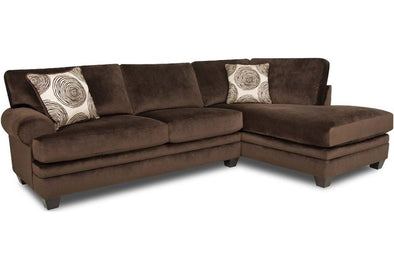 Jaylin Chocolate RAF Sectional