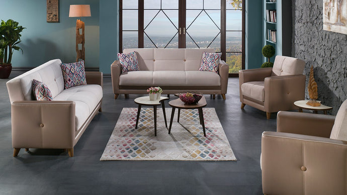 Sole  4-Piece Living Room Set by Istikbal