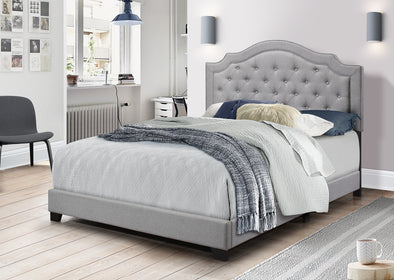 [SPECIAL] Starbed Gray King Bed - Luna Furniture