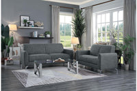 Venture Gray Living Room Set - Luna Furniture