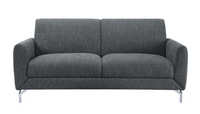 Venture Gray Sofa - Luna Furniture