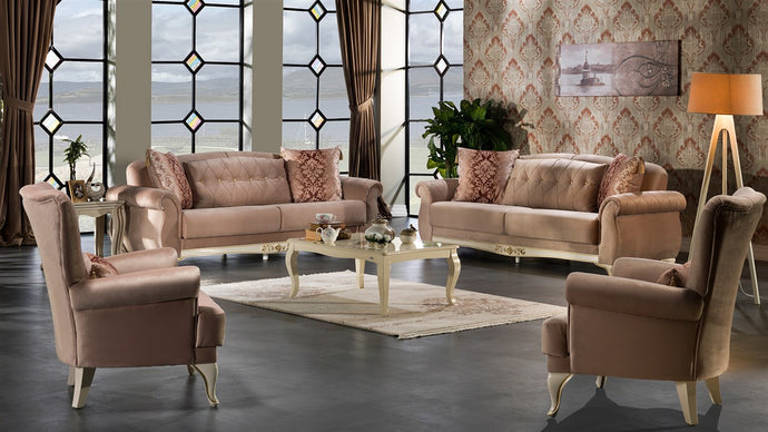 Vienna 4-Piece Living Room Set by Mondi