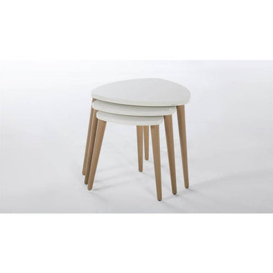 Violet Nesting Table by Bellona