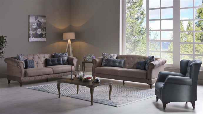 Volga  4-Piece Living Room Set by Bellona