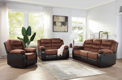 [SPECIAL] Walter Brown 3-Piece Reclining Living Room Set