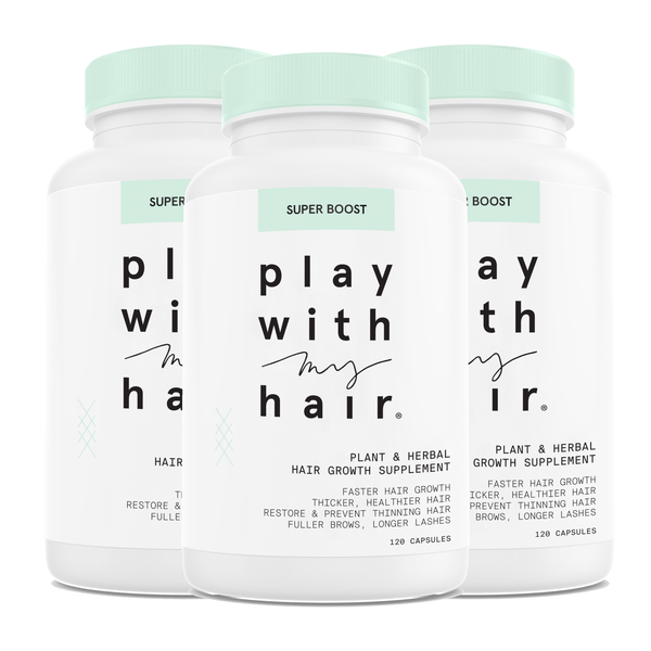 Super Boost 3-pack - Play With My Hair