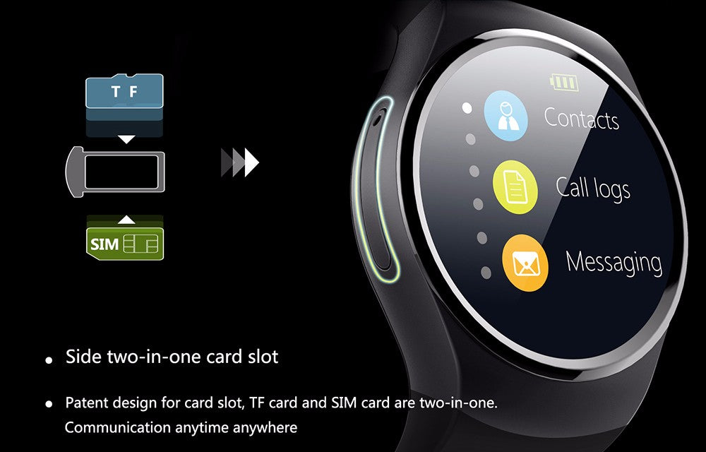 Android SIM Smartwatch Device