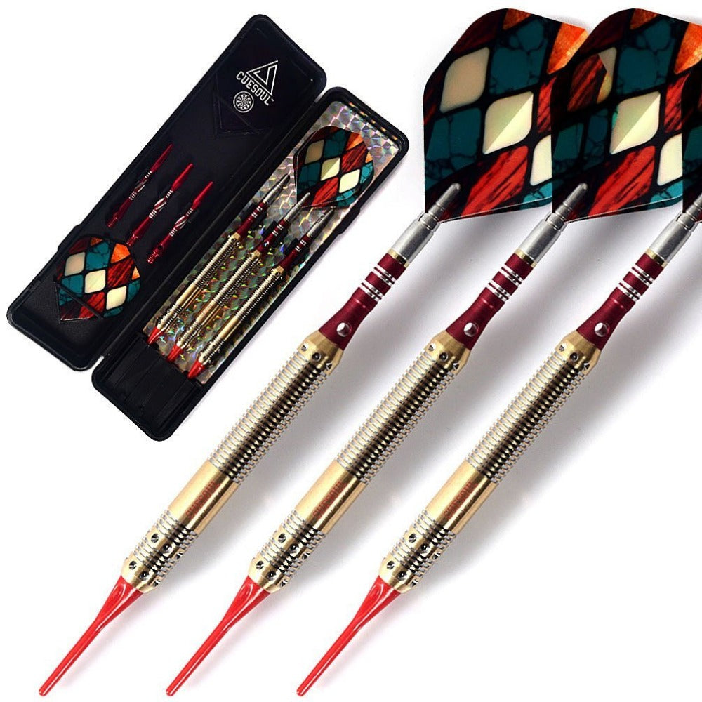 Soft Tip Darts with 16 Grams Brass Barrels For Electronic Dartboard