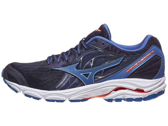 Mizuno Wave Inspire 14 nam Evening Blue/Cherry | Giay Doc | Giày Độc