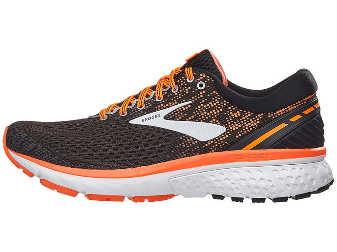Brooks Ghost 11 nam Black/Silver/Orange | Giay Doc | Giày Độc