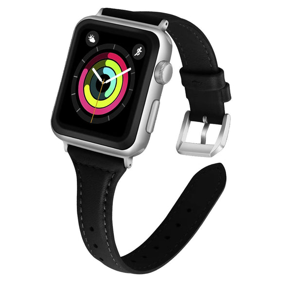 Silicone Apple Watch Bands with air holes .Color:White/Black