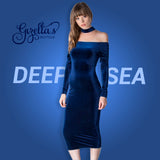 Deep Sea Knit Dress