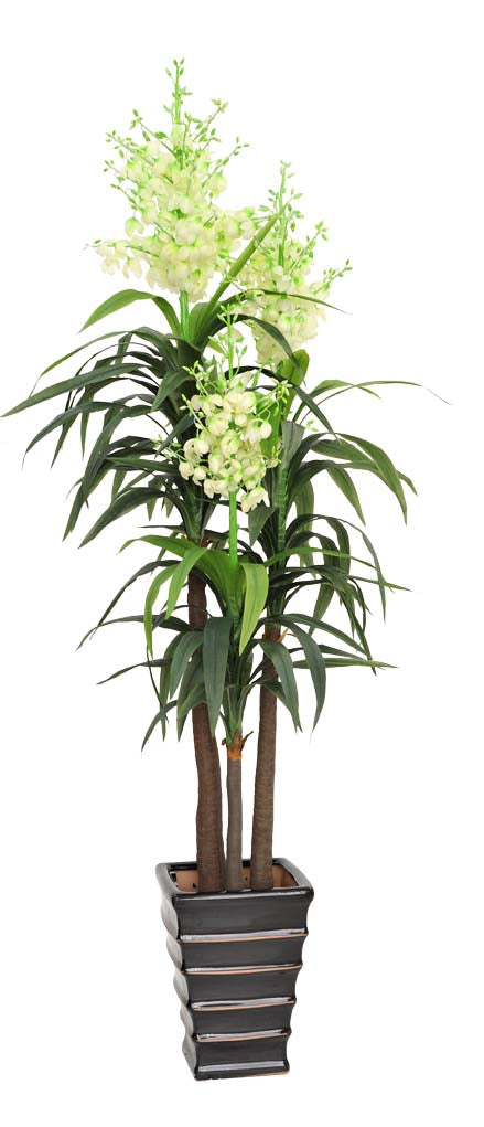 High Quality Artificial Sisal (Flowering Dracaena) Plant Multiple Heads 185cm