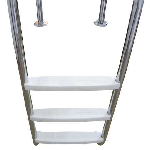 3-Step Swimming Pool Ladder In-Ground Stainless Steel